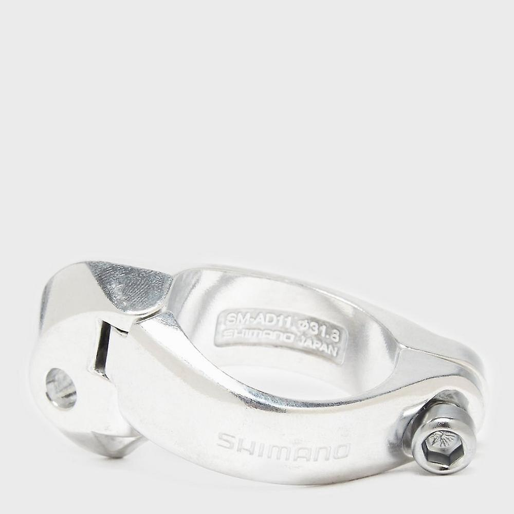 New Shimano Bicycle Front Derailleur Braze-On Clamp Brown