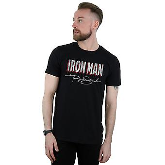 Marvel Men's Iron Man AKA Tony Stark T-Shirt