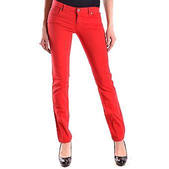 Mcq door Alexander Mcqueen Red Cotton Jeans