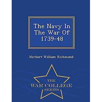 La marine dans la guerre de 173948 série War College de Richmond & Herbert William