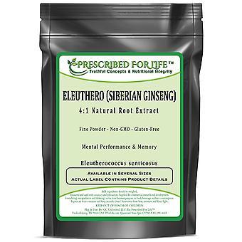 Eleuthero - 4:1 Natural Root Powder Extract (Eleutherococcus senticosus)