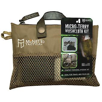 McNett Tactical Micro-Terry Washcloth Kit