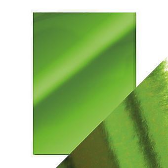 Craft Perfect A4 High Gloss Mirror Card Emerald Green Tonic Studios