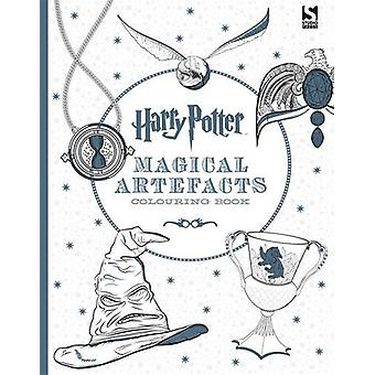Harry Potter Magical Artefacts Colouring Book by Warner Brothers - 97
