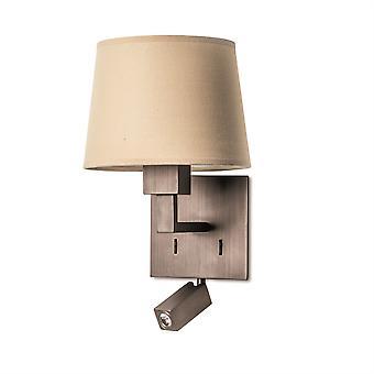 Bali bronzen afwerking wandlamp met LED Lees lamp-LEDs-C4 05-3218-19-82