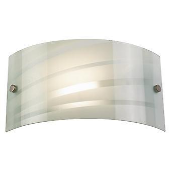 Endon SALSA 96220-WBWH Modern Wall Lights Single