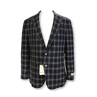 Robert Graham Roblin jacket in navy check