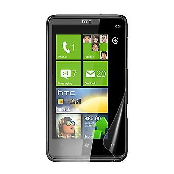 Celicious Vivid Plus Mild Anti-Glare Screen Protector Film Compatible with HTC HD7 [Pack of 2]