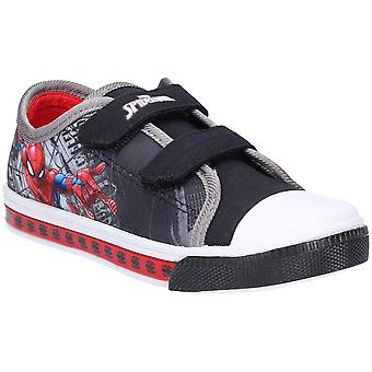 Leomil Boys Spiderman Low Lightweight Casual Plimsoll Shoes