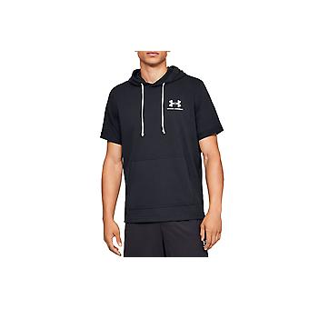 Under Armour Sportstyle Terry SS Hoody Tee 1329290-001 Mens T-shirt