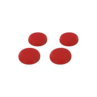 Tpu thumb grip stick caps for sega dreamcast controllers - 4 pack red