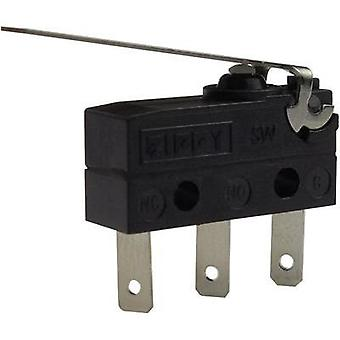 Microswitch 250 Vac 6 A Zippy SW-05S-03B0-Z IP67 momentary 1 pc(s)