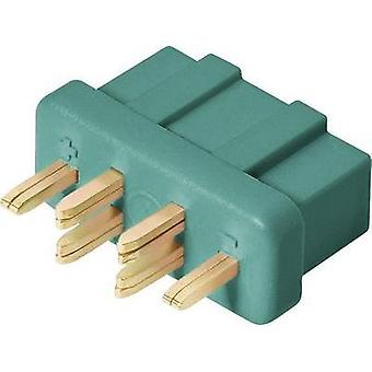 Battery receptacle MPX Gold-plated 1 pc(s) Modelcraft 71271