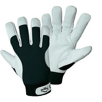 Griffy 1707 Winter mounting gloves Inner hand: Nappa-leather  Back of the hand: Spandex Size 9