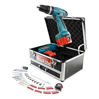 Makita Drill 12V Nicd Dwaet2 8271 Includes 68 Accessories