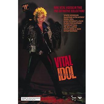 Billy Idol Vital Movie Poster (11 x 17)