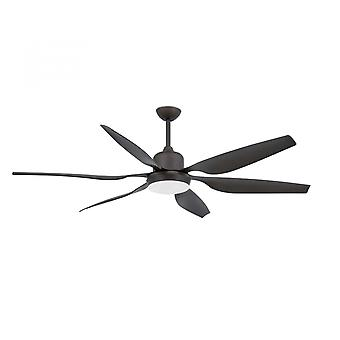 Faro ceiling fan Tilos dark brown 168.5 cm / 66""