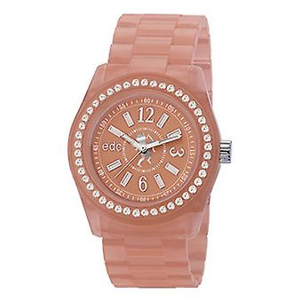 EDC by ESPRIT watch wrist watch ladies Discoglam afterglow peach EE900172019