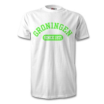 Groningen 1971 Established Football Kids T-Shirt