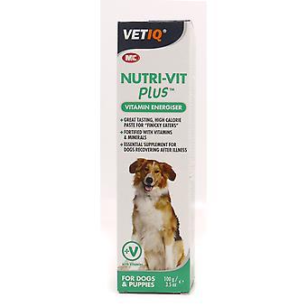 Dyrlægen Iq Nutri-vit Plus hund indsætte 100g