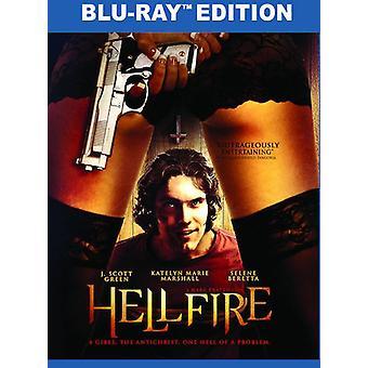 L'enfer de feu [Blu-ray] USA import