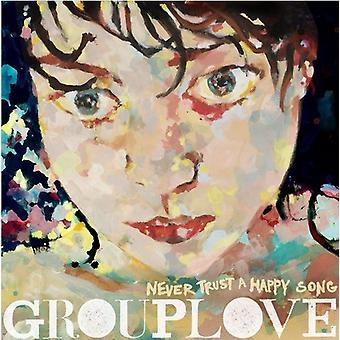 Grouplove - Never Trust a Happy Song [CD] USA import