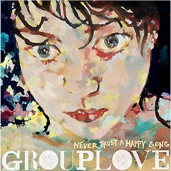 Grouplove - Vertrouw nooit een Happy Song [CD] USA import