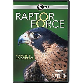 Nature: Raptor Force [DVD] USA import