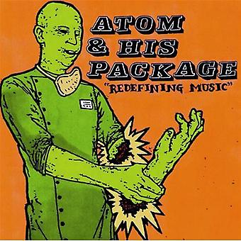 Atom & His Package - Redefining Music [CD] USA import