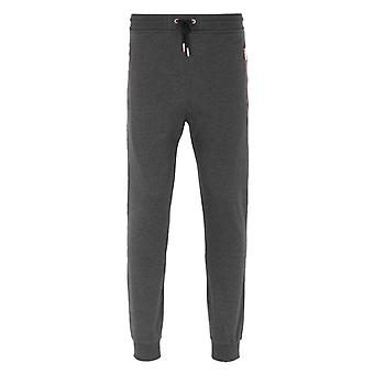Luke 1977 Lures Marl Lux Charcoal Jersey Tracksuit Bottoms