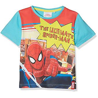 Marvel Spiderman pojkar kort ärm T-Shirt