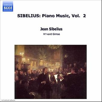 J. Sibelius - J. Sibelius: Piano Music Vol. 2 [CD] USA import
