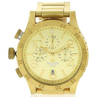 Nixon Geo Volt Chrono horloge Mens Watch A486502