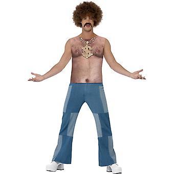 70s costume chest hair blank boy pimp pimp men