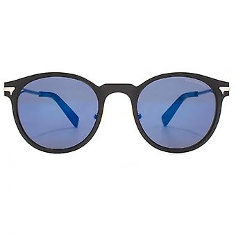 G-Star Raw Clasp Stormer Sunglasses In Matte Black