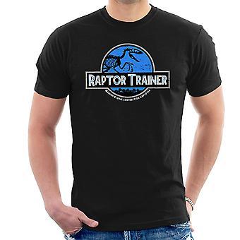 Raptor Trainer Jurassic World Men's T-Shirt