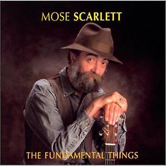 Mose Scarlett - grundlæggende ting [CD] USA import