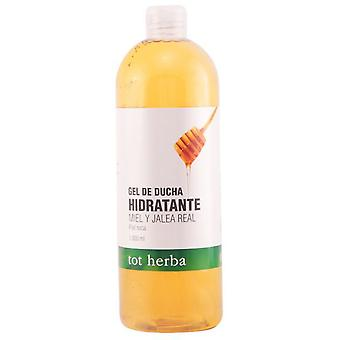 TOT Herba Hydrating brusebad Gel honning og gelé 1000 ml