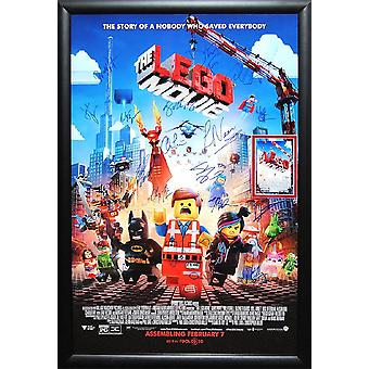 The Lego Movie - Signed Movie Poster