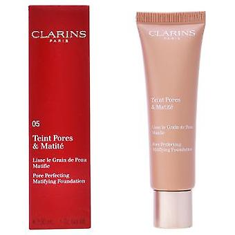 Clarins Teint pores y matite foundation (Make-up , Face , Bases)