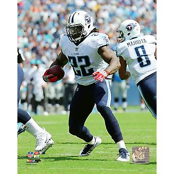 Derrick Henry 2017 Action Photo Print