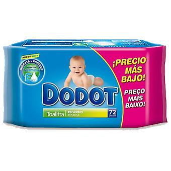Dodot 72 Units Wipes (Childhood , Diaper and changers , Wipes )