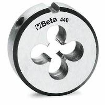 Beta 441 A12X1 M12X1 X 38.1Mm/1.1.2In O/D Round Dies Fine Pitch Chrome-Steel