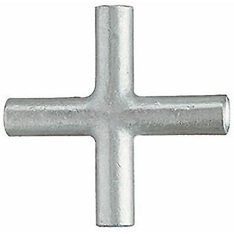 Cross connector 10 mm² Not insulated Metal