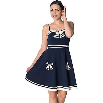Banned Apparel Set Sail Strappy Dress