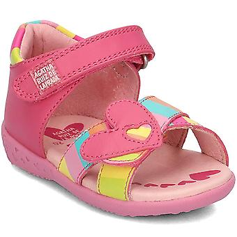 Agatha Ruiz De La Prada 182909 182909AFUCSIAYRAYAS universal  infants shoes