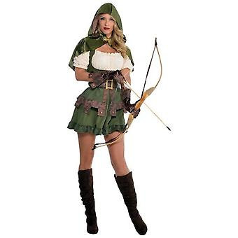 Amscan Robin Hood Costume for Adult Woman (Dzieci i niemowlęta , Kostiumy)