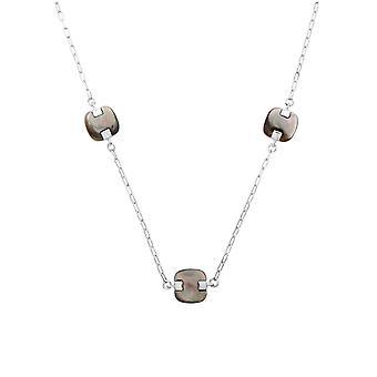 Misaki ladies necklace silver AMIDALA QCUNAMIDALA