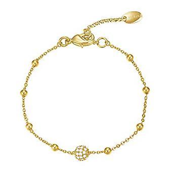 Esprit Damen Armband Edelstahl gold Zirkonia ESBR01889B160