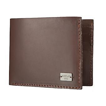 Sac à main pochette sac à main en cuir marron 4566 de rejouer